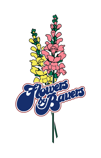 Flowers by bauers Logo (Color)