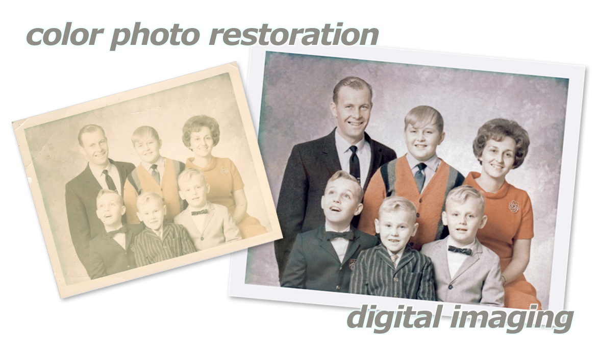 Color Photo Restoration Slide