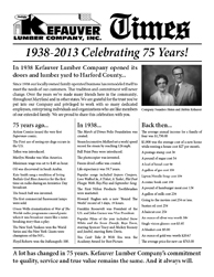 Kefauver Times Newsletter